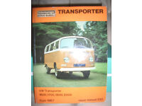 VOLKSWAGON TRANSPORTER REPAIR MANUAL 233 BOOK FOR SALE