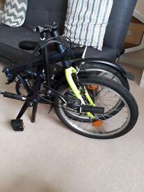 Folding bike Decathlon Hoptown 320