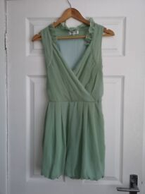 Mint Green Playsuit small size