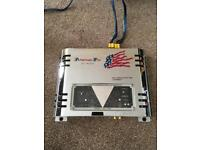 American probass machine 400W output 2 Channel