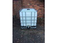 1000 litre water tank