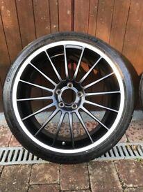 "19"" Mercedes AMG Wheels"