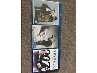 Blu Ray DVDS x 3 James Bond