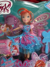 Winx Club Butterflix fairy - brand new unopened box giftable doll