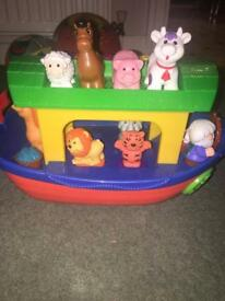 Noah's ark with sounds