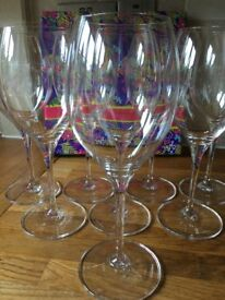 Red wine glasses by Villeroy and Boch