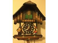 Cuckoo Clock, German Style with Swiss Movement