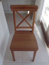 IKEA Ingolf Antique Pine Chair - like new £10
