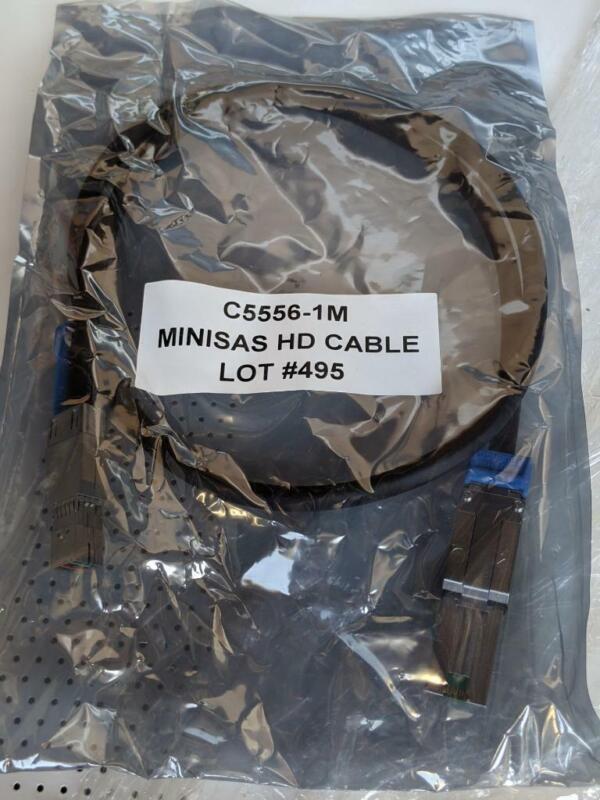 New  C5556-1M Mini SAS HD Cable, New   USA Seller