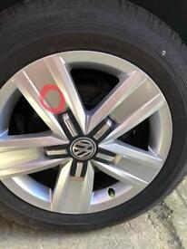 """Volkswagen Davenport 17""""alloy wheels"""