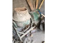 Cement mixer for sale starts first time ever time need gone!!