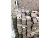 Free for collection garden stones/bricks
