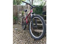 "Kona custom Hardtail jumpbike/ mountain bike 26"" wheels"
