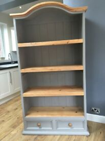 LARGE SOLID PINE BOOKCASE £120 ONO COLLECTION FROM BIRSTALL LEICESTER