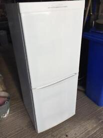Candy fridge freezer, good condition, Height 136cm Width 55cm can deliver thanks