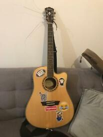 washburn wd10sce electro acoustic guitar