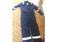 Fireproof overalls