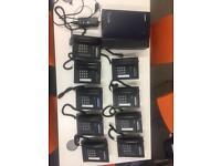 Panasonic office phone system (KX-T7668) (TDA15)