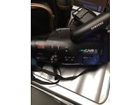 Samsung Camcorder with case and 3 batteries
