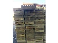 Treated Decking 28mm x 120mm 3 Metres Long £5.00 Per Length