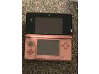 Light Pink Nintendo 3Ds