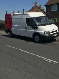 Ford transit one previous owner