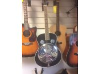 Resonator Acoustic Guitar Brand New Shop Demonstrator