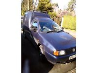 VW Caddy, reliable every day runner, VW maintained, single family ownership,