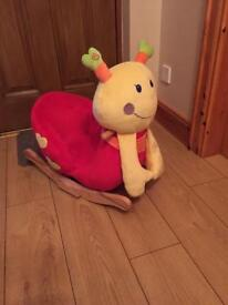 Baby Play Rocking Snail - AS NEW