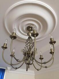 8 candle chandelier light for sale