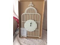 Birdcage clock