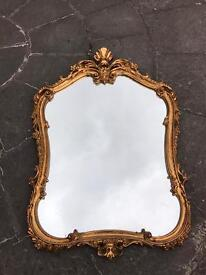 Mirror and side table