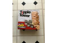 Tipple tower drinking game (brand new)
