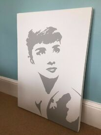 Audrey Hepburn painting REDUCED PRICE