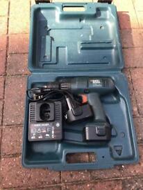 Black & decker 12V cordless drill