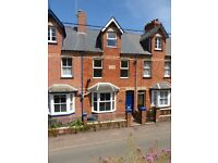 Recently renovated 2 double bedroom house for let within a close walk of the town centre