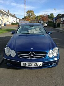 Rare Mercedes clk 270 cdi Manual