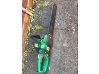 Garden chainsaw