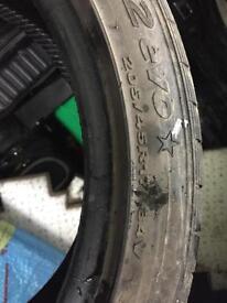 Hankook tyre. 205/45/17