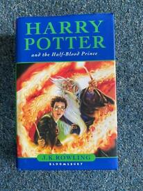 Harry Potter and the Half-blood Prince by J. K. Rowling **RARE MISPRINT**.