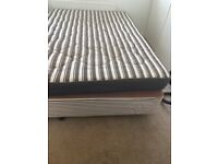 FREE DOUBLE BED BASE AND MATTRESS