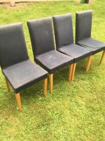 Habitat chairs with covers (free)