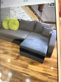 New Corner sofa bed can deliver