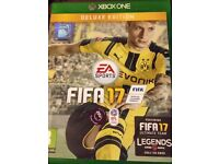 Fifa 17 Xbox one like new