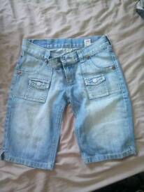 Republic jean shorts size 8