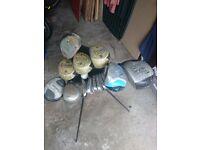 Set of Golf clubs + Donnay International Golf Bag