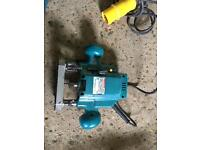 Makita 110v router and trend jigs