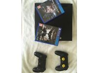 ps4 2 games 2 controllers