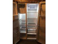 Daewoo fridge freezer with ice and water dispensor
