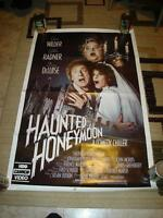 1986 HAUNTED HONEYMOON GENE WILDER GILDA RADNER VIDEO POSTER